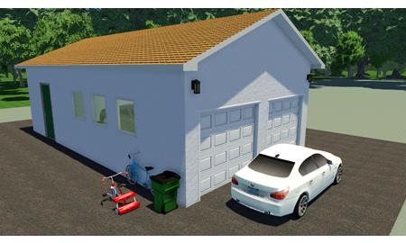 vad kostar det att bygga ett garage