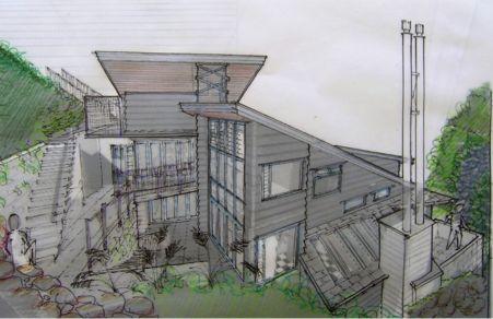 Bygga hus direkt på berg