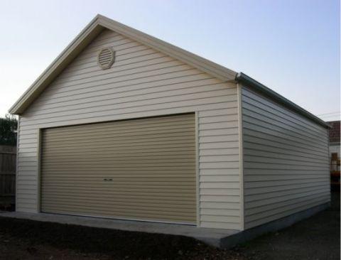 Färdiga garage med grund