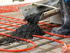 Hur lägger man vattenburen golvvärme i betong