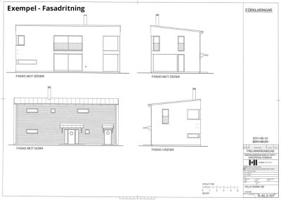 fasadritning