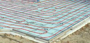 tillbyggnad välja husgrund golvvärme