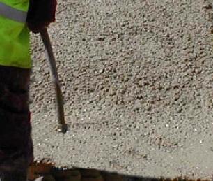 torktid betong innan flytspackel