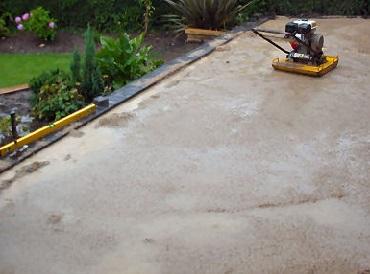 gjuta betong regn