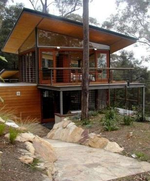 Bygga hus på berg