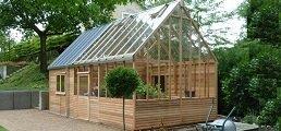 betongplatta växthus