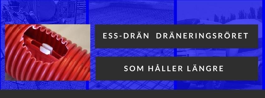 ESS Drän - dräneringsrör
