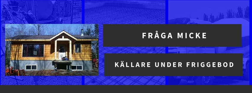 Källare under friggebod