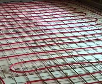 dra in golvvärme till tillbyggnad