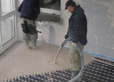 Flytspackla/gjuta golv i källare  Husgrunder.com