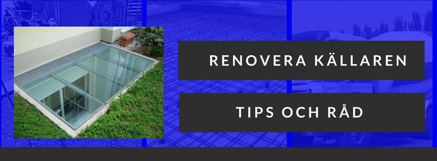 Renovera källaren - tips och råd