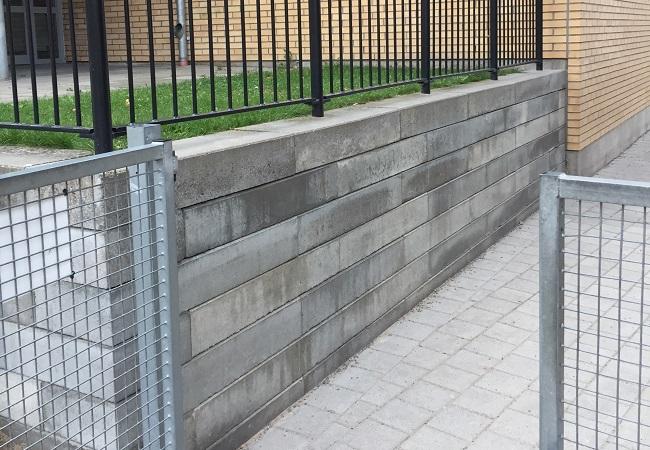 terassering mur