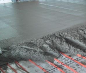 gjuta igen hål i betonggolv