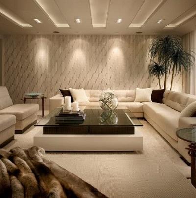 Inspiration för extra vardagsrum i källaren