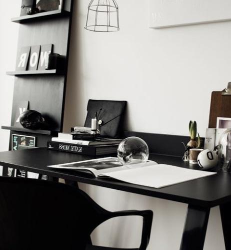 Inspiration för kontor i källaren