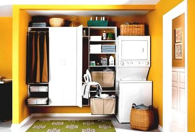 Inspiration för tvättstuga i källaren