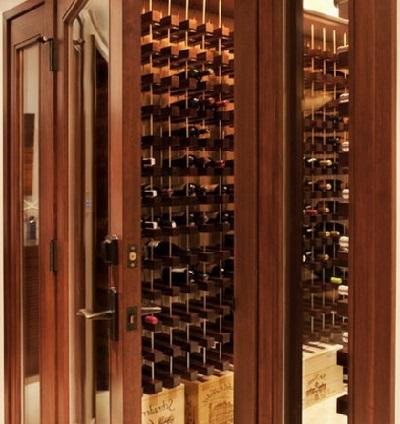 Inspiration för vinkällare i källaren