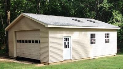 bygga ett garage