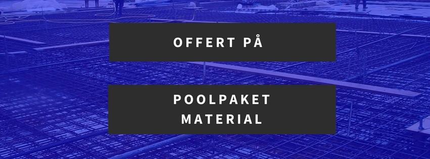 Offert på pool