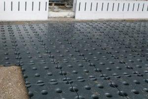 isolera golv frigolit
