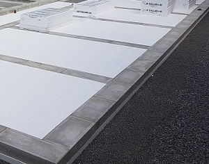 Hybridgrunden - minimerar mängden betong i grunden