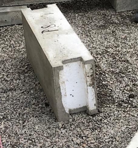 balk för betongplatta för självbyggare