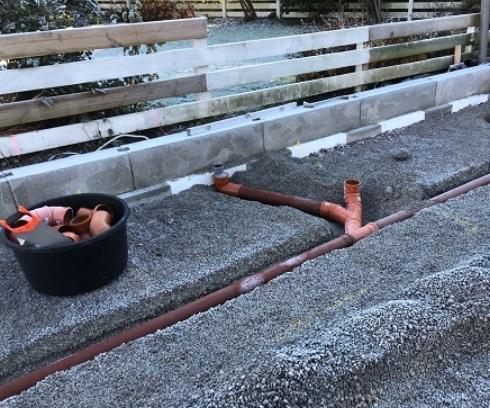 gjuta betonggolv garage