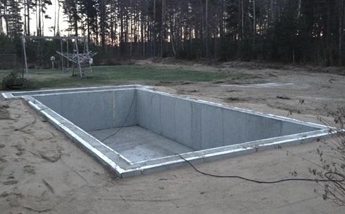 bygga egen pool i betong