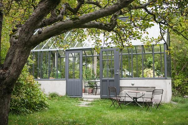 fristående växthus